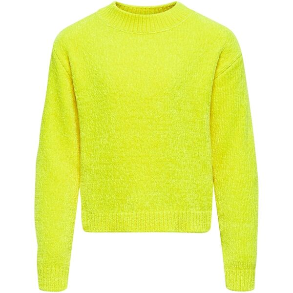 Kids ONLY Safety Yellow Anacia L/S Strik Pullover