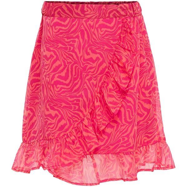 Kids ONLY Living Coral Helen Fake Wrap Nederdel