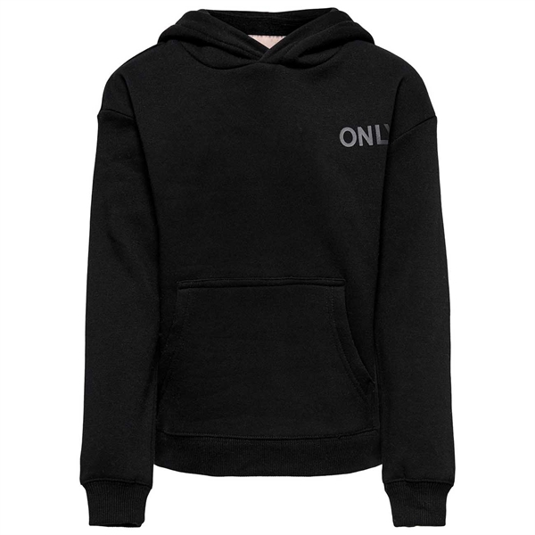 Kids ONLY Black Every Life Small Logo Noos Hoodie