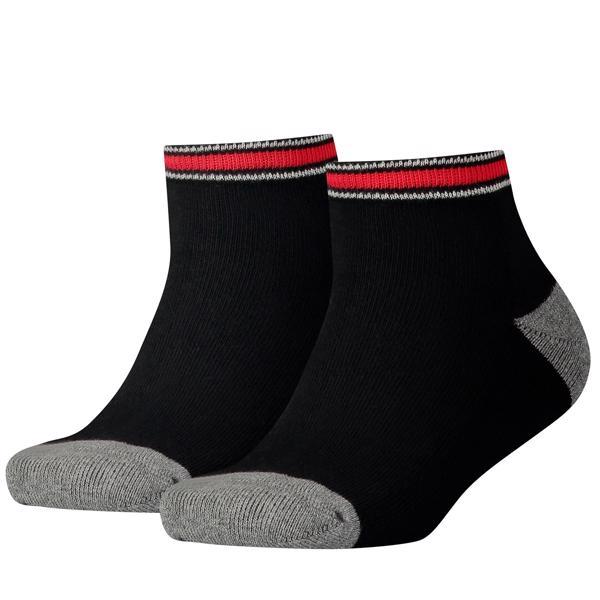 Tommy Hilfiger 2-pak Iconic Sports Quality Strømper Black