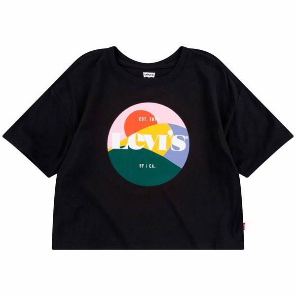 Levis High Rise T-shirt Black