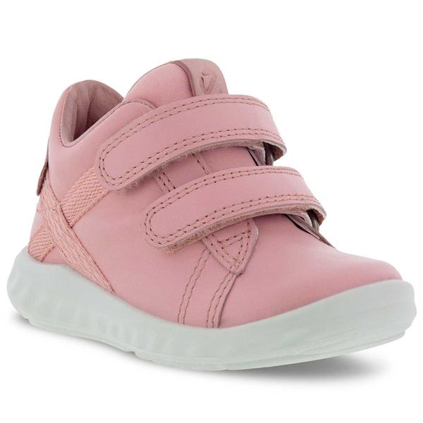 Ecco Lite Infant Silver Pink Sko