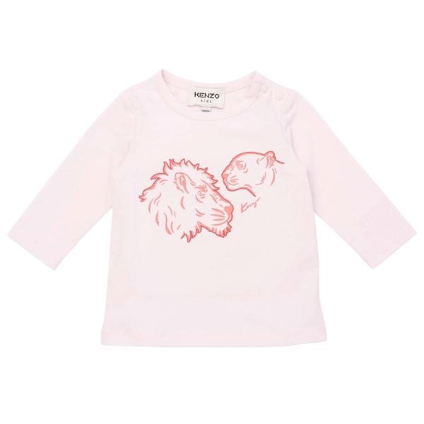 Kenzo Lion Bluse Pale Pink
