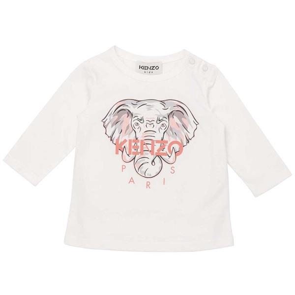 Kenzo Elephant Bluse Off White