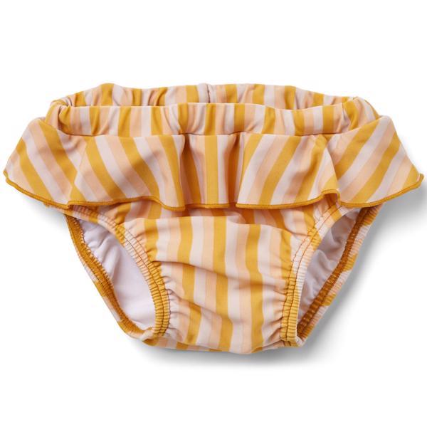 Liewood Elise Badebukser Stripe Peach Sandy Yellow Mellow