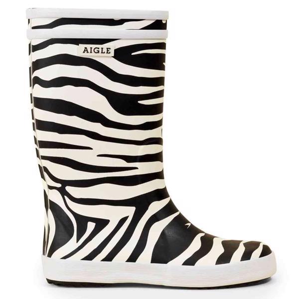 Aigle Lolly Pop Gummistøvler Zebra