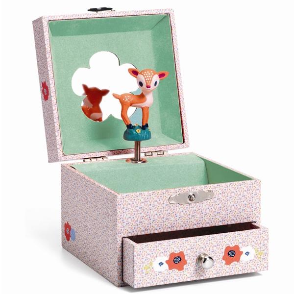 Djeco Smykkeskrin Med Musik Bambi