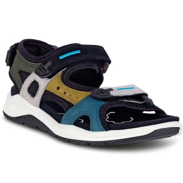 Ecco X-Trinsic K Multicolor Fir Green Sandal