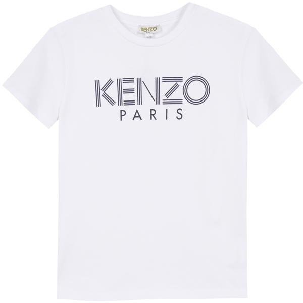 Kenzo Logo JB t-shirt Shirt Optical White