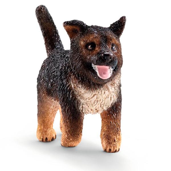 Schleich Farm World Schæferhund Hvalp