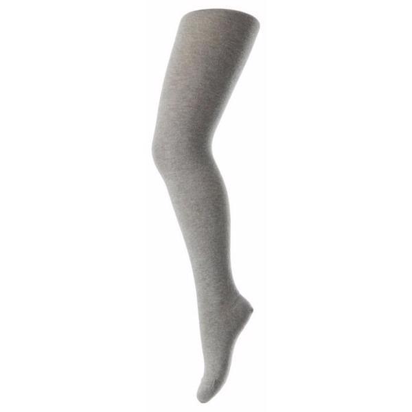 MP 326 Cotton Plain Tights 491 Grey Melange