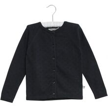 Wheat Navy Knit Cardigan Maja