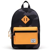 herschel-heritage-kids-backpack-rygsaek-night-camo-blazing-orange-boy-dreng-girl-pige-unisex