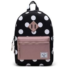 herschel-heritage-kids-backpack-rygsaek-polka-dot-ash-rose-boy-dreng-girl-pige-unisex