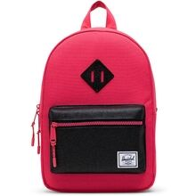 herschel-heritage-kids-backpack-rygsaek-rouge-red-black-sparkle-boy-dreng-girl-pige-unisex