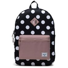 herschel-heritage-youth-x-large-backpack-rygsaek-polka-dot-ash-rose-girl-pige
