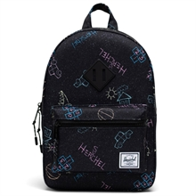 herschel-heritage-kids-backpack-rygsaek-asphalt-chalk-girl-pige-boy-dreng-unisex