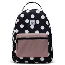 herschel-nova-youth-backpack-rygsaek-polka-dot-ash-rose-girl-pige