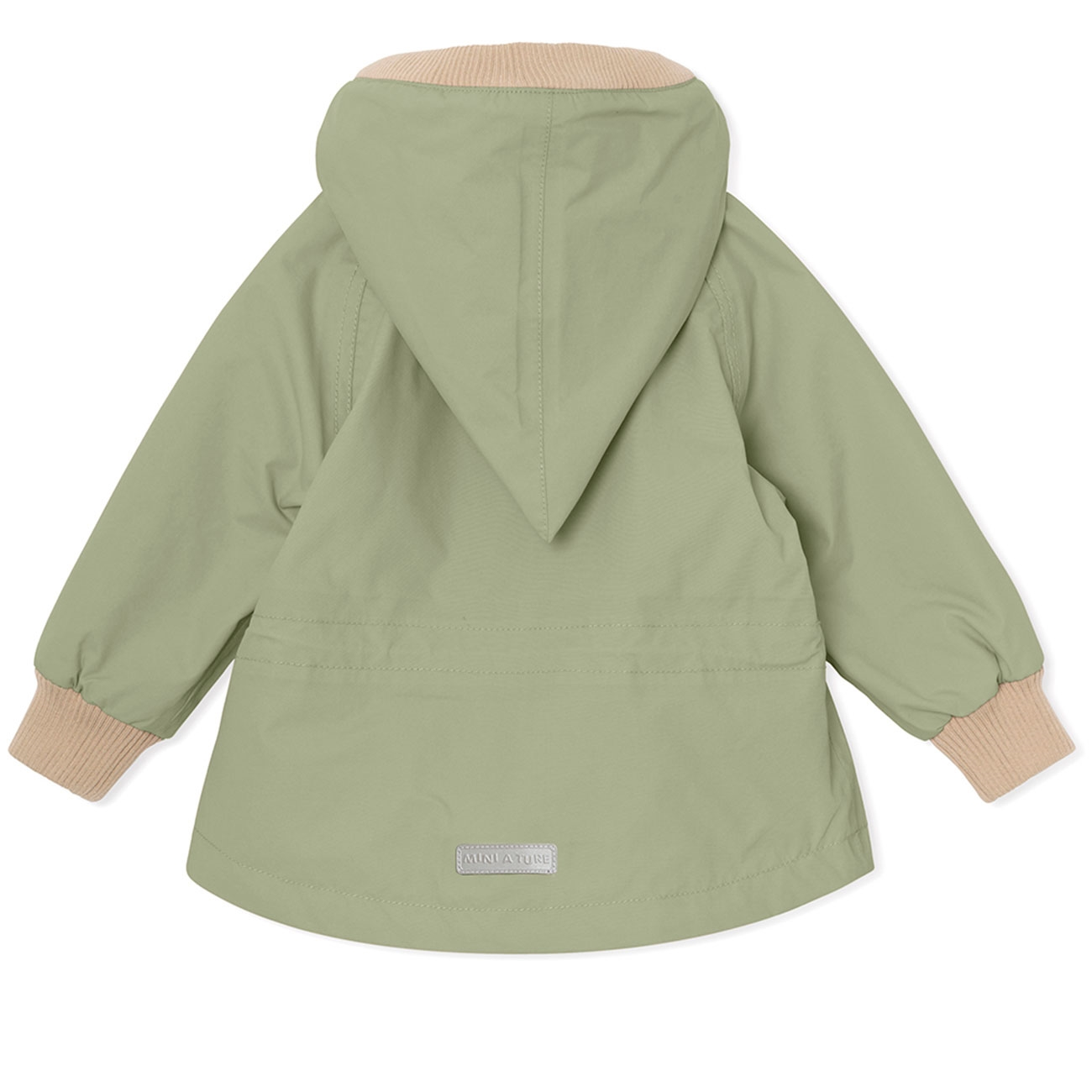 mini-a-ture-jacket-jakke-oil-green-groen