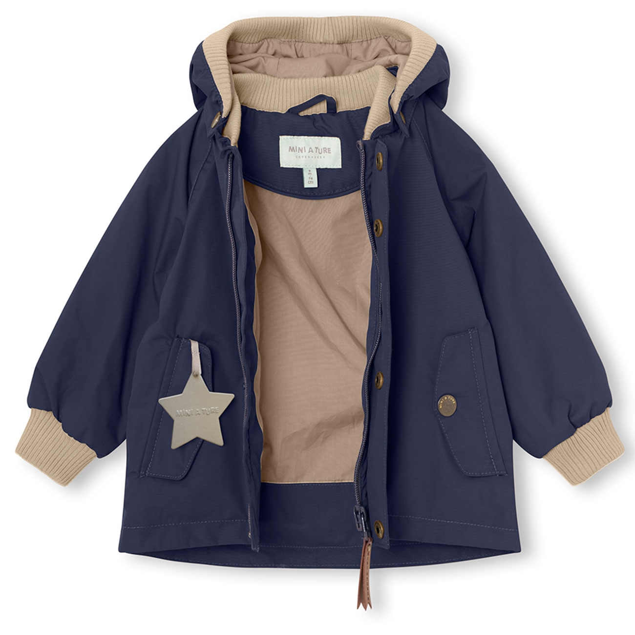 mini-a-ture-jacket-jakke-wally-maritime-blue-moerkeblaa