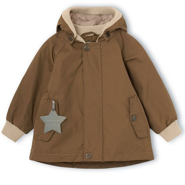 mini-a-ture-jacket-jakke-wally-wood-brown-brun