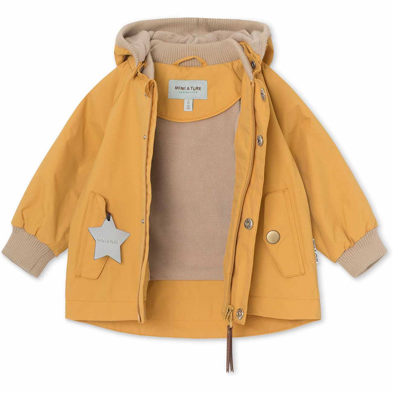 mini-a-ture-jacket-jakke-wally-waxed-honey-gul