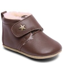 bisgaard-futter-shoes-velcro-star-brown-brun-stjerne