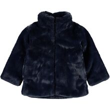Name it Faux Fur Dark Sapphire Mamy Jakke