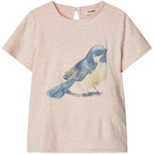 Lil'Atelier Peach Blush Gunver T-shirt