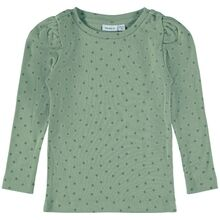 name-it-nille-bluse-blouse-shadow-green-girl-pige