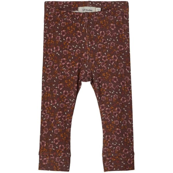 lil-atelier-leggings-deep-mahogany-moerkelilla-dark-purple-brown-brun-blomster-flowers.jpg Close