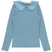 name-it-bluse-bliuse-dusty-blue-lyseblaa-krave-collar