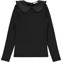 name-it-bluse-blouse-black-sort-krave-collar