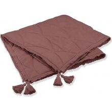 konges-sloejd-taeppe-quilted-blanket-cedar-wood