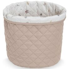 camcam-quilted-storage-basket-medium-opbevaring-vatteret-print-beige