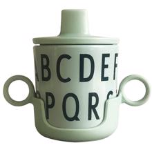 Design Letters Green ABC Grow With Your Cup Melamin