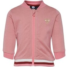hummel-flamingo-pink-zip-jacket-cardigan-pige-girl