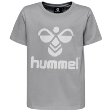 hummel-t-shirt-tee-short-sleeve-grey-graa