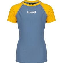 hummel-badebluse-swim-shirt-zab-blue-blaa-gul-yellow