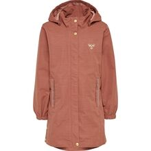 hummel-martha-jakke-jacket-cedar-wood-red-roed