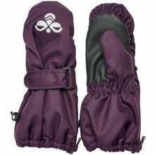 hummel-glo-mittens-vanter-blackberry-wine-girl-pige