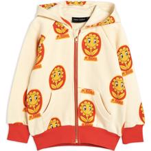 mini-rodini-flower-aop-zip-hoodie-offwhite-cardigan-blomster-red-roed