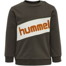 hummel-clement-sweatshirt-black-olive-boy-dreng