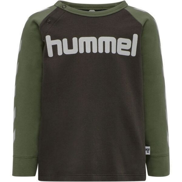 Hummel-bluse-shirt-green-groen-brun-brown