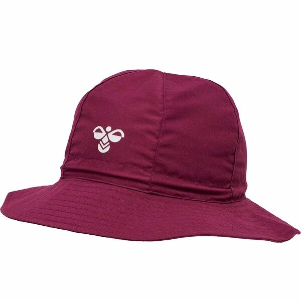 hummel-hat-badehat-purple-potion-red-roed-white-hvid