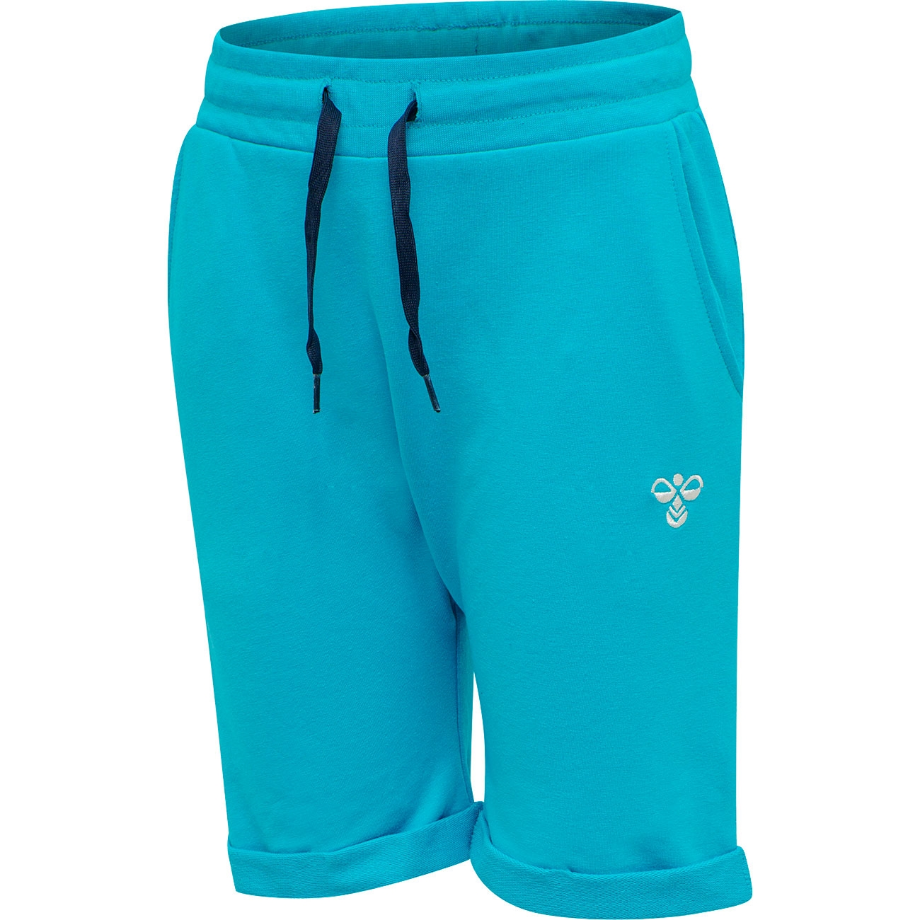 hummel-shorts-blue-blaa-pocket-lomme