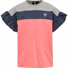 hummel-tshirts-tea-rose-rosa-blue-blaa-grey-graa