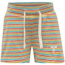 hummel-shorts-alex-white-asparagus-stripe-striber