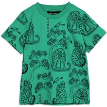 Mini Rodini Tigers T-shirt Green