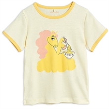 mini-rodini-t-shirt-tee-yellow-gul-unicorn-enhjoerning